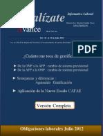 Actualízate Avance Del 01 Al 15 Julio 2012