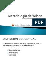 Metodolog�a de Wilson capitulo 7