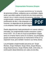 Conglomerados Empresariales Peruanos