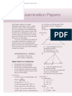 Sample HSC Paper