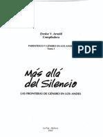Arnold, D. Mas Alla Del Silencio