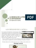 Mc3basica en La Prehistoria y La Antigc3bcedad