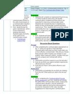 lesson revision chart - 2