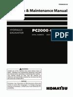 O&M PC2000-8  20001-UP TEN00236-03