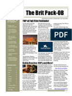 TBP August 2014 Newsletter, Vol 2, Issue 8