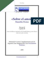 Marsilio Ficino - Sobre el amor