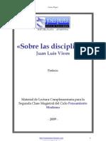 Juan Luis Vives - Sobre las disciplinas