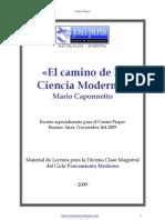 Mario Caponnetto - El camino de la ciencia moderna