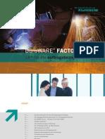 BüroWARE® FACTORY Die Zukunft ist mit uns ERP für die auftragsbezogene Fertigung
