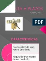 Venta a Plazos Diapositivas