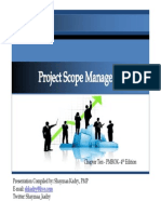 PMBOK - CAP 10 Scope Management