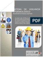 Sistema de Vigilancia Epidemiológico - Riesgo Auditivo