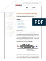 Control Tutorials for MATLAB and Simulink - Cruise Control_ System Modeling
