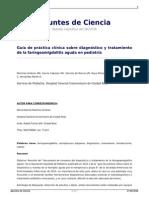 Guia de Practica Clinica Sobre Diagnostico y Tratamiento de La Faringoamigdalitis Aguda en Pediatria 2
