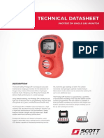 Portable Gas Detector Protege ZM Datasheet ANZ
