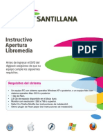 Intructivo Libromedia Santillana