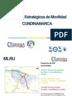 Presentación Proyectos de Infraestructura de Transporte de Cundinamarca