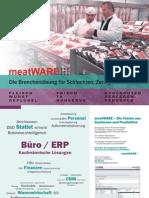 meatWARE - Die Branchenlösung für Schlachten, Zerlegen, Veredeln