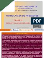 Sesión II Formulación Proyectos PDF
