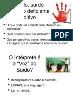 O Surdo (Capítulo 2 pág 45 - 50) Slides em PPT