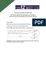 TUTORIAL Envio Artigo Sbpjor2014-1