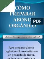 Como Preparar Abono Orgánico