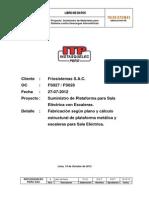 Esoecificaciones Tratamiento Estructuras Metálicas Panamericana Solar
