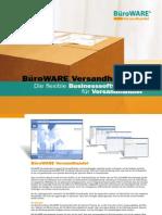 BüroWARE Versandhandel - Die flexible Businesssoftware für Versandhändlerl