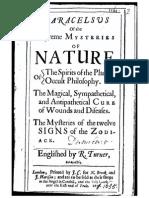 36367033 Paracelsus Supreme Mysteries of Nature 1656