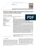 The Effect of Androgen Replacement Therapy on Prostate Growth a Systematic Review and Meta Analysis