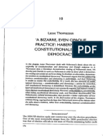 Thomassen-A Bizarre Even Opaque Practice Habermas on Constitutionalism and Democracy-2011
