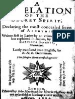 71789436 Agnello Revelation of the Secret Spirit 1622