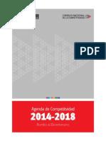Agenda de Competitividad 2014 2018