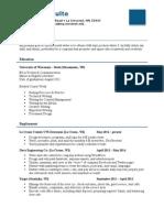 2014 resume-alyssa schulte