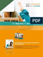 OXID eShop - Der Webshop für BüroWARE ERP