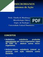 Antimicrobianos Mecanismos de Acao