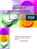 Delirio y Alucinaciones Para Enfermereos 1