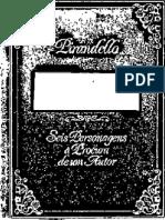 Seis Personagens a Procura de Um Autor - Luigi Pirandello