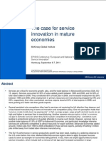 1 the Case for Service Innovation in Advanced Economies_Dr. Jan Mischke