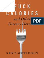 Fuck Calories - Krista Scott Dixon