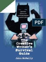 The Creative Writer's Survival Guide_ Ad - John McNally