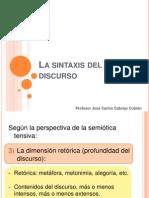 Discurso E (Sintaxis Del Discurso 2)