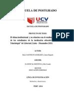 Clima Organizcional_rendimiento Academico 2014