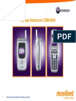 Manual Utstarcom Cdm8940