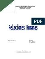 Relaciones Humanas - Giron Alfredo