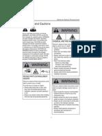 Warn Service Manual