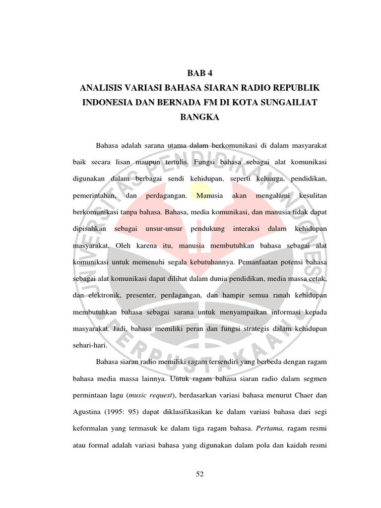 Sejarah Radio Republik Indonesia - Wikipedia bahasa Indonesia, ensiklopedia bebas