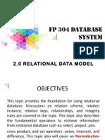 2.0 Relational Data Model_contd