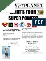 VJO REAL Superhero Flyer