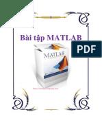 Bài Tập MATLAB - Tài Liệu, eBook